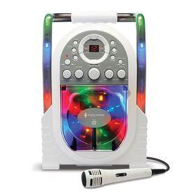 The Singing Machine - Lecteur karaoké portable à effets lumineux