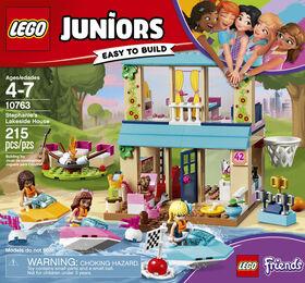LEGO Juniors La maison au bord du lac de Stéphanie 10763