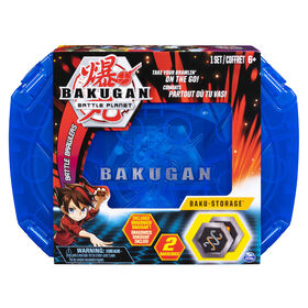 Bakugan, Baku-storage Case (Blue) for Bakugan Collectible Creatures