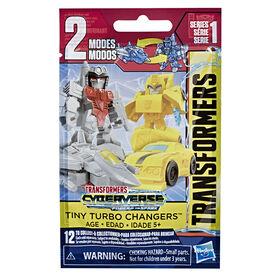 Transformers Cyberverse Tiny Turbo Changers, figurines en sac surprise