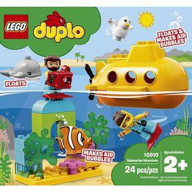 LEGO DUPLO Town L'aventure en sous-marin 10910