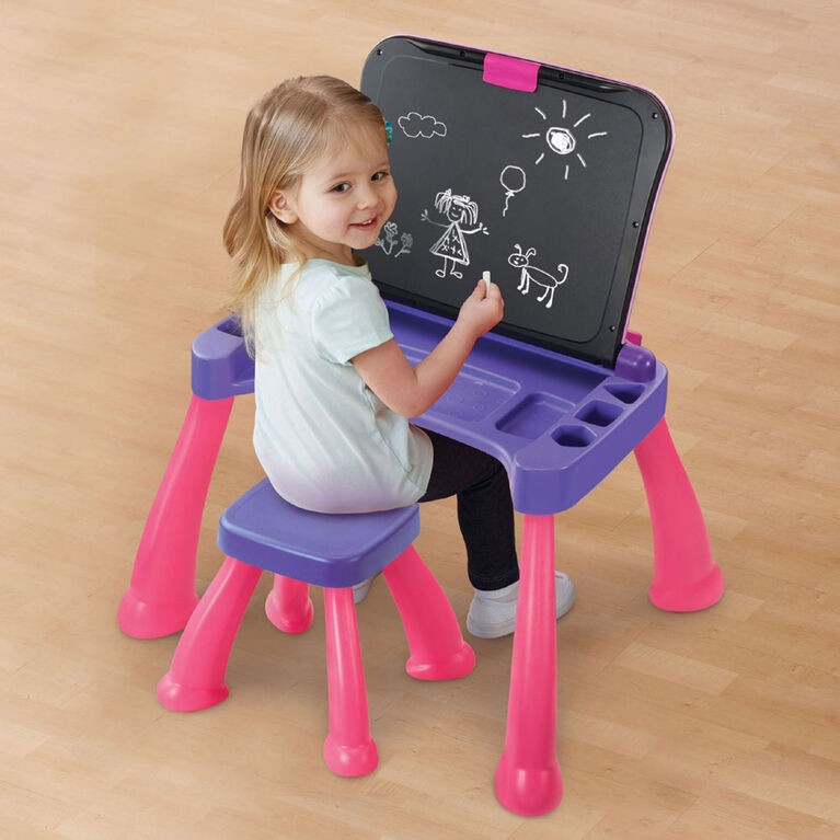 Touch & Learn Activity Desk Deluxe (Pink) - English Edition