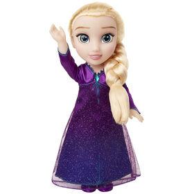 Frozen 2 - le caractère poupée Elsa