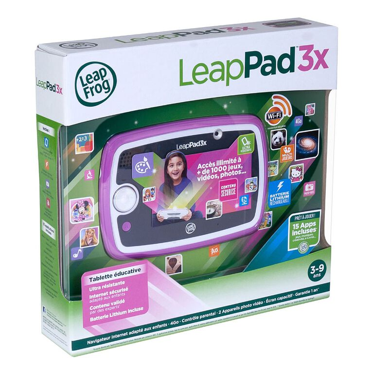 Leappad 3X - Pink - French Edition