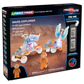 Laser Pegs Mission Mars Collection - Mars Explorer