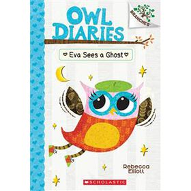 Owl Diaries #2: Eva Sees a Ghost