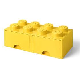 LEGO Storage Drawer 8 Yellow