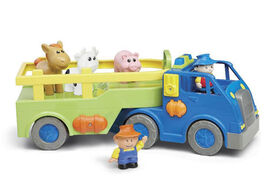 Bruin - Tracteur rigolo avec figurines