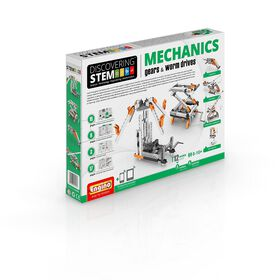 Engino-Stem Mechanismes: Engrenages Et Machines À Doubles Engrenages.