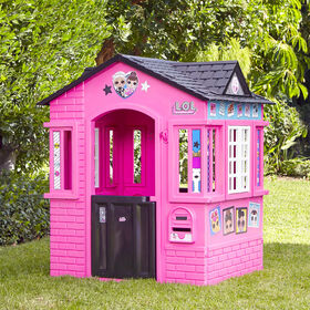 LOL Surprise! Indoor and Outdoor Cottage Playhouse with Glitter