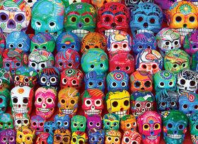Eurographics Traditonal Mexican Skulls 1000 Piece Puzzle