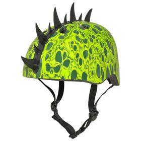 Krash - casque de vélo pour jeunes 8 ans et plus Skull Swarm - vert.