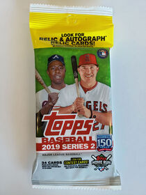 2019 Topps Baseball Series 2 Fat Pack