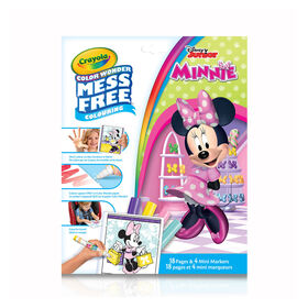 Crayola Mess-Free Color Wonder Pages & Mini Markers, Minnie Mouse