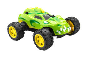 Monzoo – 1:22 Full Function RC Monster - Series 1 - 27MHZ/ Green