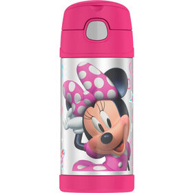 Thermos Funtainer 355ml Bottle Minnie Mouse Bowtique