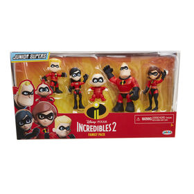 Incredibles 2 Family Figure Pack