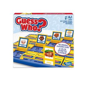 Jeu Guess Who? classique de Hasbro Gaming