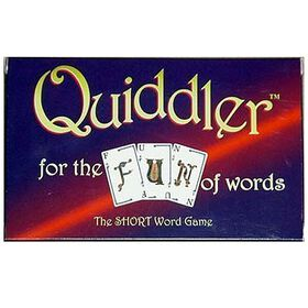 Quiddler Game - English Edition