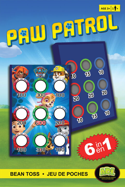 _WAITING FOR NEW CONTENT_Paw Patrol Bean Toss 6 in 1 Game