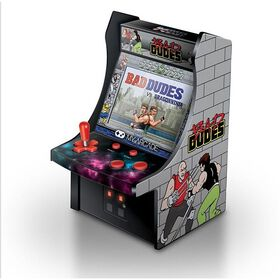 "6"" Bad Dudes Arcade Machine"