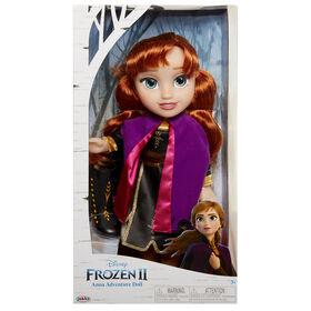 Frozen 2 Anna Travel Doll