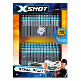 X-Shot Excel Foam Darts Refill Pack 100 Darts