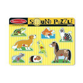 Melissa & Doug - Sound Puzzle - Pets