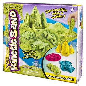 Kinetic Sand - Wacky-tivities - Sandbox & Molds - Green