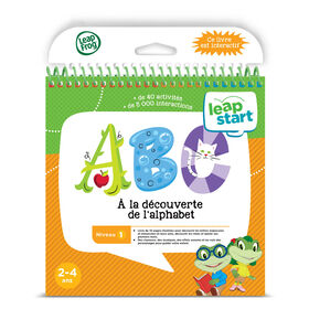 LeapFrog® LeapStart® Alphabet Adventures with Music - Activity Book - French Edition