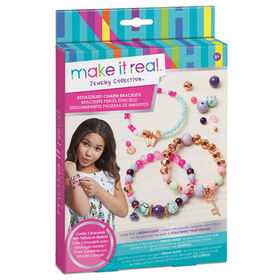 Make It Real Beaded Charm Bracelets Blooming Creativity
