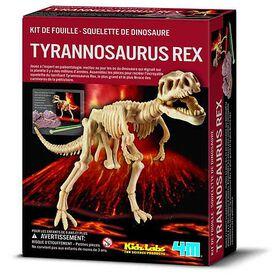 4M Dig a Tyrannosaurus Rex - French Edition