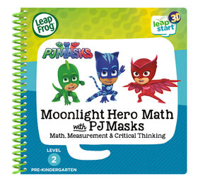 LeapFrog LeapStart 3D Moonlight Hero Math with PJ Masks Activity Book - English Edition