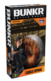 BUNKR Inflatable Cable Spool for Blaster Battles