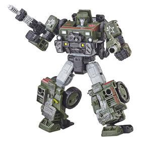 Transformers Generations War for Cybertron: Siege - Figurine Autobot Hound de classe de luxe.