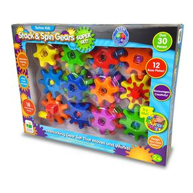 Techno Kids Stack & Spin Gears Super Set