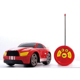 Bruin - Auto téléguidée de 12 po 27 MHz - rouge
