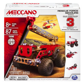 Meccano, Multimodels, Rescue Squad 3 Model Set