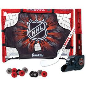 Ensemble de but de hockey miniature de la NHL, de Franklin Sports