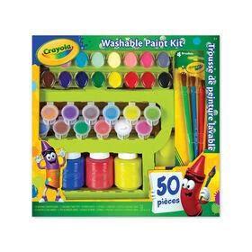 Crayola - Washable Paint Kit
