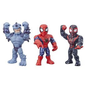 Playskool Heroes Mega Mighties Marvel Super Hero Adventures Web Warriors 3-Pack