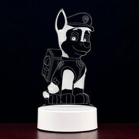 PAW Patrol 3D LED Night Light - Chase