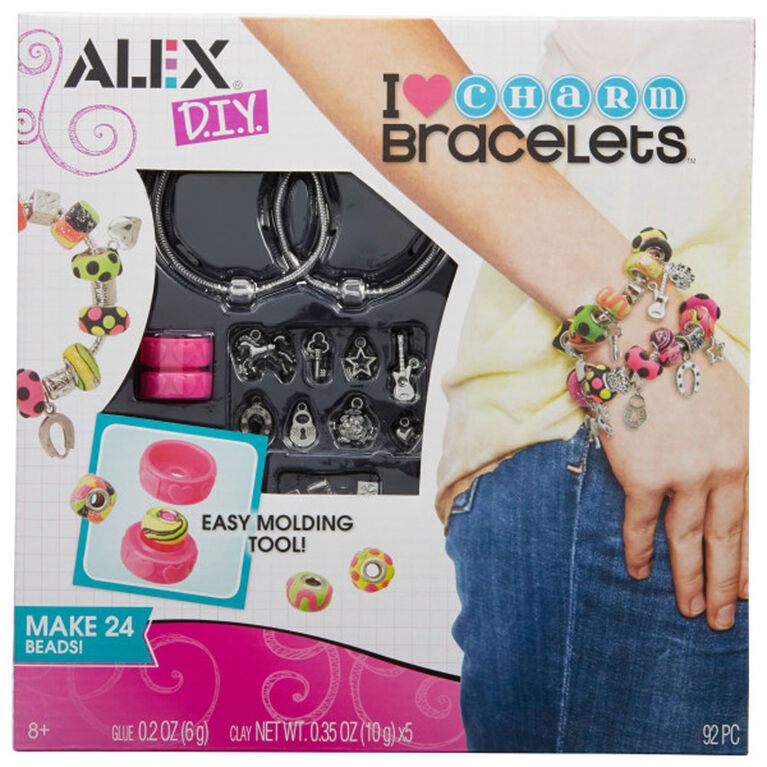ALEX DIY - I love Charm Bracelets
