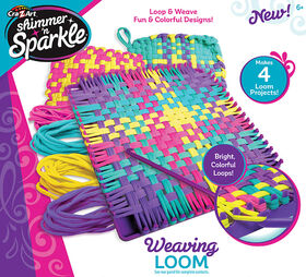 Cra-Z-Art Shimmer N' Sparkle Weaving Loom
