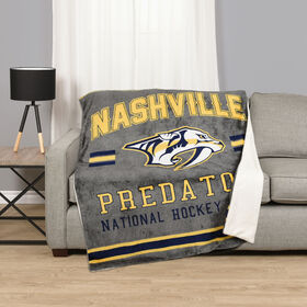 NHL Team Throw - Nashville Predators