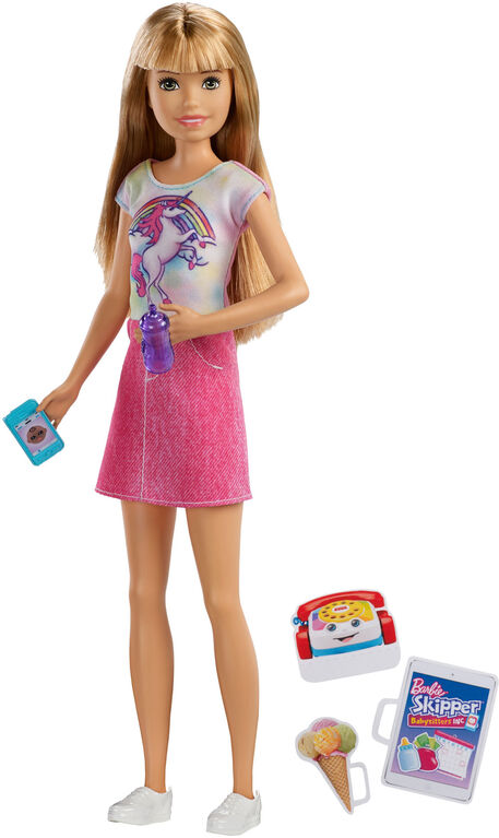 Barbie Skipper Babysitters Inc Doll & Accessories Set