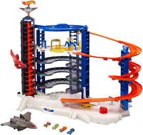 Hot Wheels Super Ultimate Garage Playset - English Edition