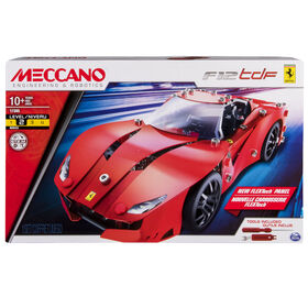 Meccano-Erector – Ferrari F12tdf  Building Set with Poseable Steering