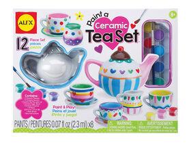 Paint A Ceramic Tea Set