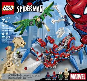 LEGO Super Heroes Le véhicule araignée de Spider-Man 76114